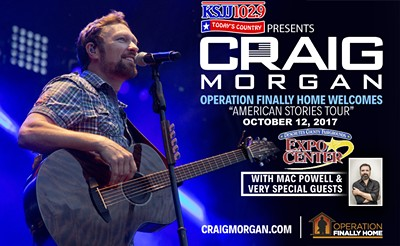 Operation finally home welcomes craig morgan american for Operationfinallyhome org