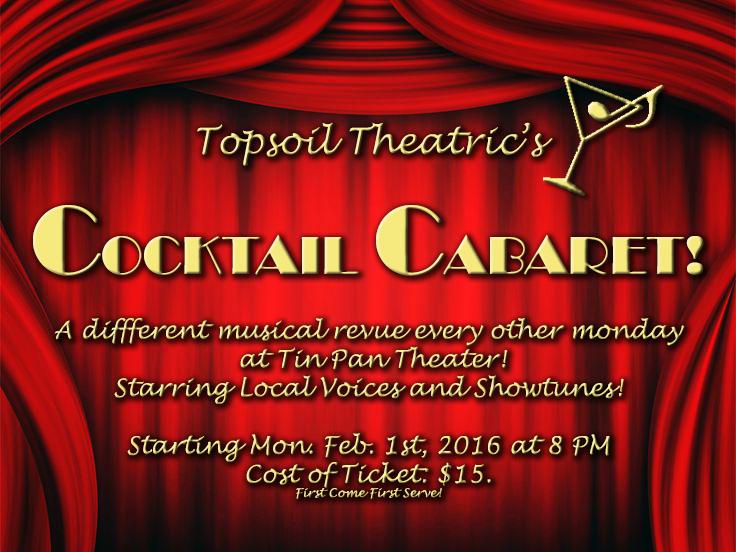 Cocktail Cabaret @ Tin Pan Theater Tickets | Tin Pan Theater | Bend ...