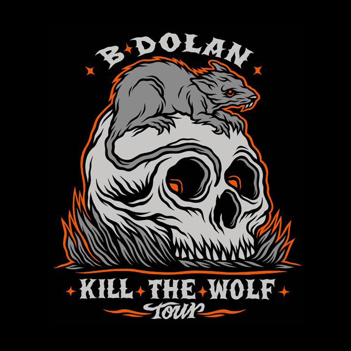 B DOLAN KILL THE WOLF TOUR Tickets | Volcanic Theatre | Bend, Or | Wed, Mar  30, 2016 at 8pm | Bend Ticket