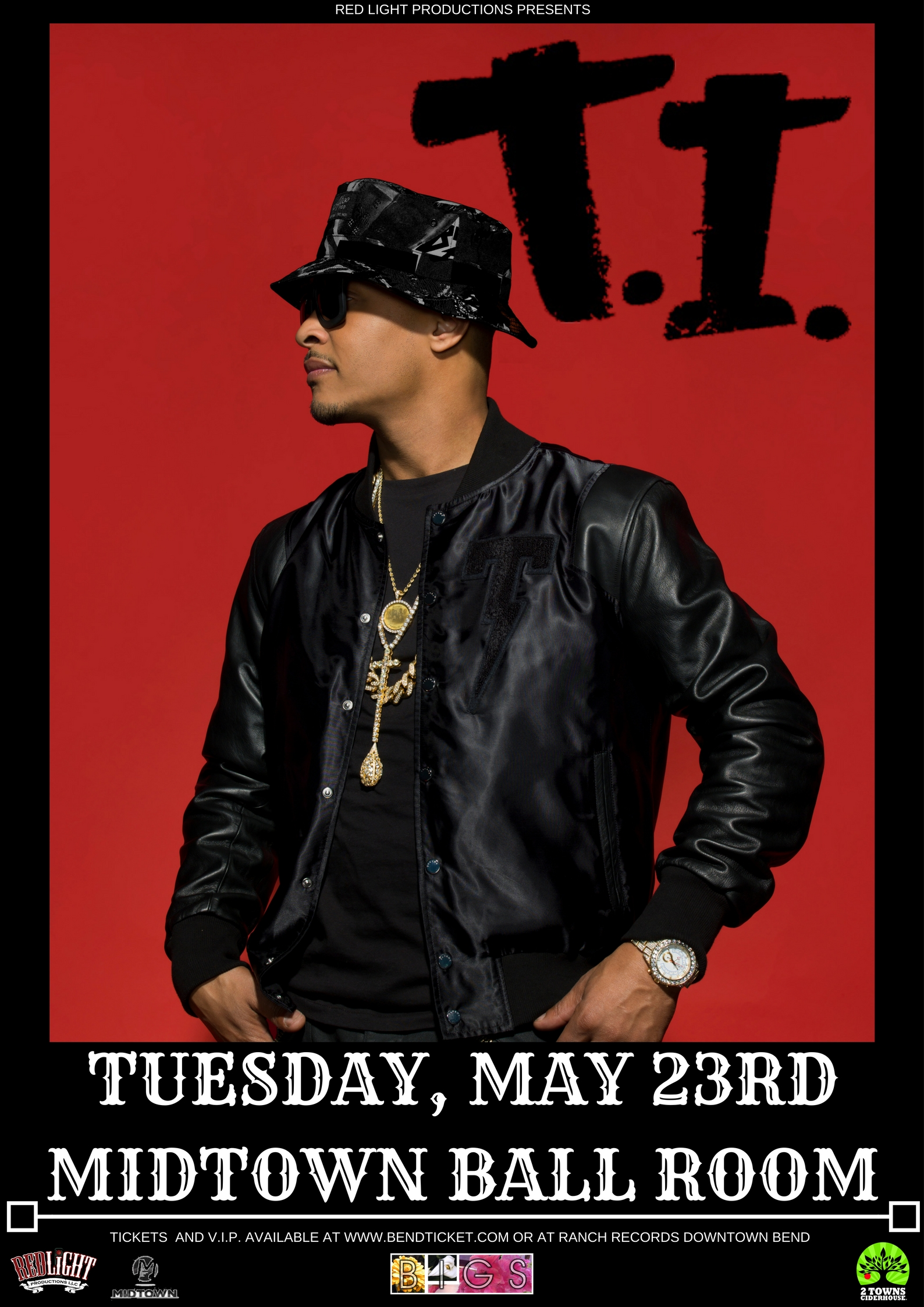 Ti On The Hustle Gang Tour Presented By Red Light Productions